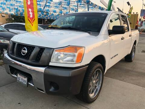 2008 Nissan Titan for sale at Plaza Auto Sales in Los Angeles CA