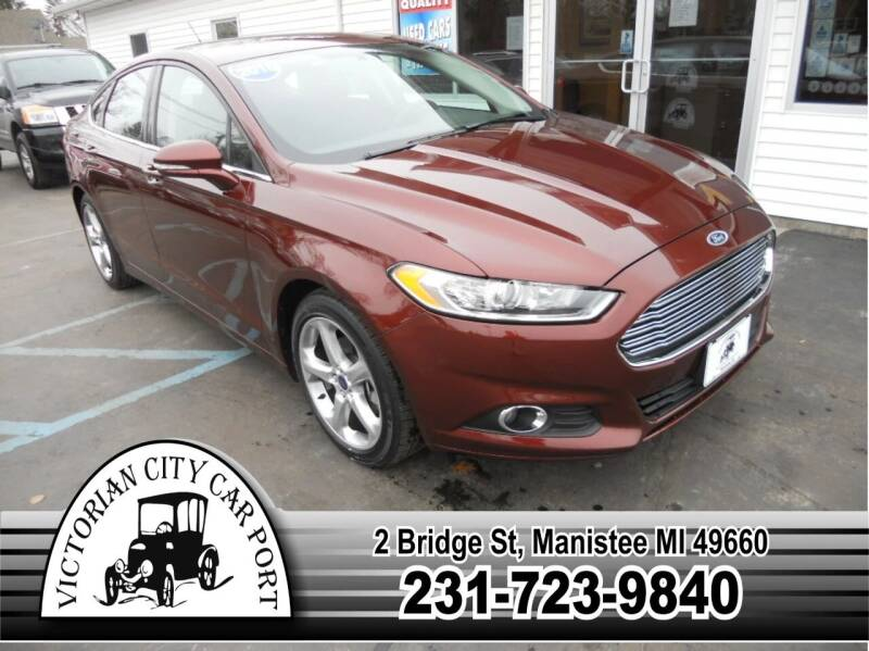 2015 Ford Fusion for sale at Victorian City Car Port INC in Manistee MI