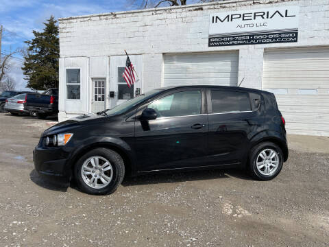 2016 Chevrolet Sonic for sale at Imperial Auto of Marshall in Marshall MO