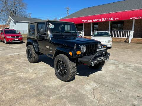 2003 Jeep Wrangler for sale at Taylor Auto Sales Inc in Lyman SC