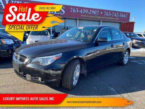 2007 BMW 5 Series for sale at LUXURY IMPORTS AUTO SALES INC in North Branch MN