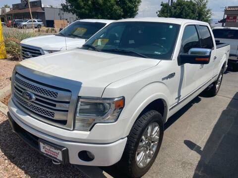 2013 Ford F-150 for sale at Boulevard Motors in Saint George UT