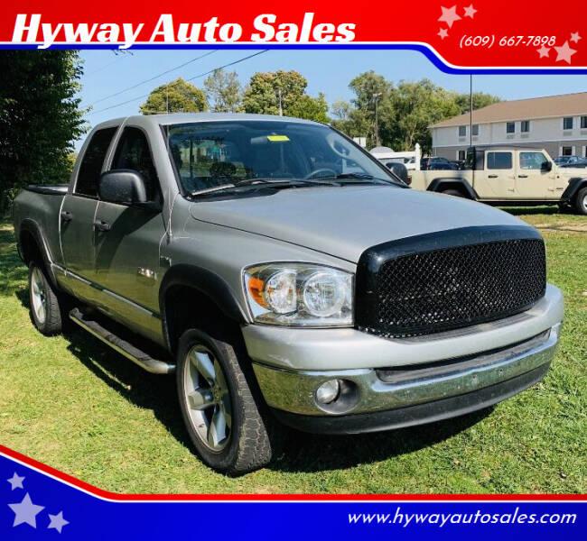 2008 Dodge Ram Pickup 1500 for sale at Hyway Auto Sales in Lumberton NJ