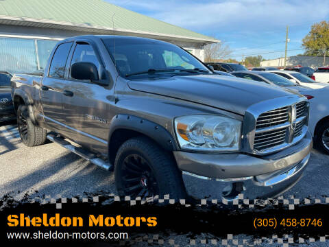 2007 Dodge Ram Pickup 1500 for sale at Sheldon Motors in Tampa FL