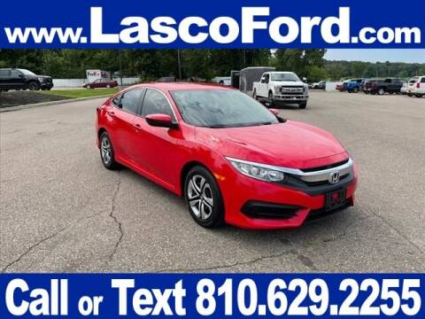 2016 Honda Civic for sale at LASCO FORD in Fenton MI