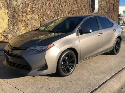 2017 Toyota Corolla for sale at El Tucanazo Auto Sales in Grand Island NE