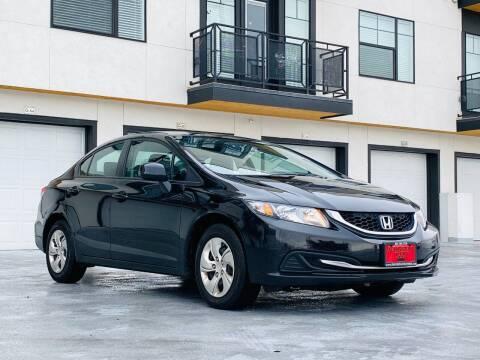 2013 Honda Civic for sale at Avanesyan Motors in Orem UT