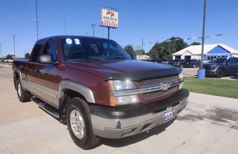 2003 Chevrolet Silverado 1500 for sale at America Auto Inc in South Sioux City NE