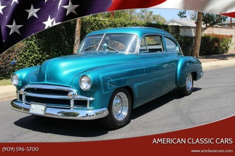 1950 Chevrolet Fleetline for sale at American Classic Cars in La Verne CA