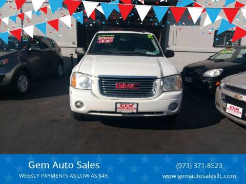 2007 GMC Envoy for sale at Gem Auto Sales in Irvington NJ