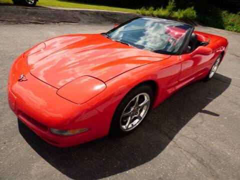 2004 Chevrolet Corvette for sale at Chris's Century Car Company in Saint Paul MN