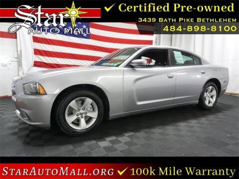 2014 Dodge Charger for sale at STAR AUTO MALL 512 in Bethlehem PA