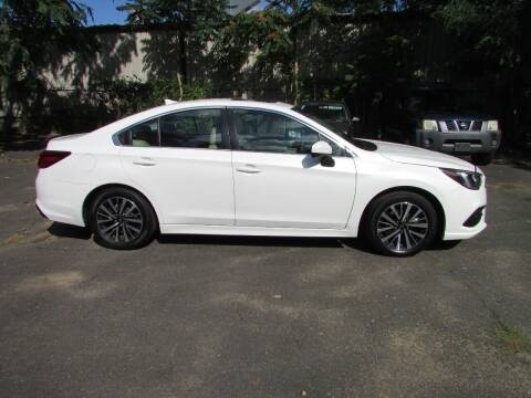 2018 Subaru Legacy for sale at Nutmeg Auto Wholesalers Inc in East Hartford CT