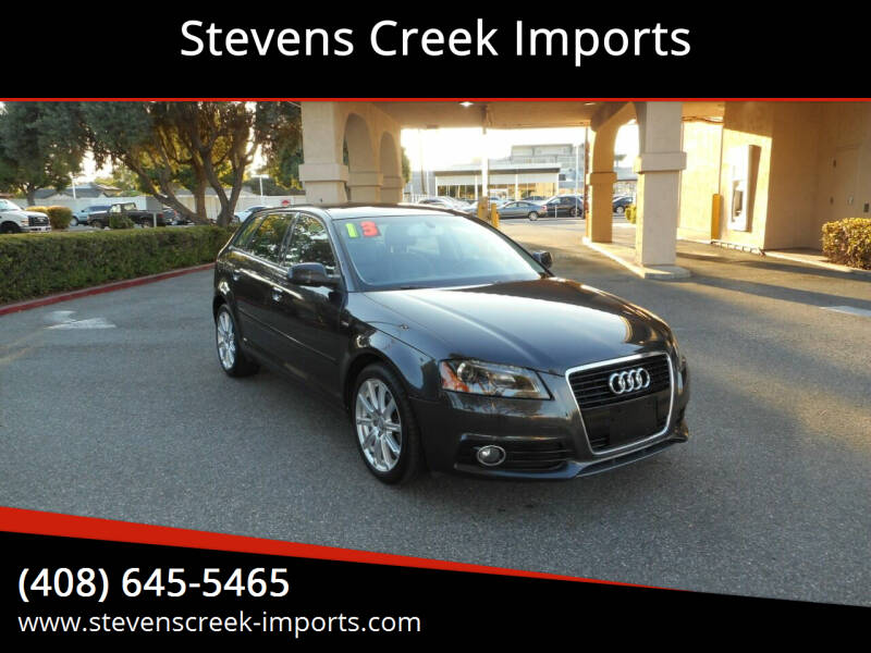 2013 Audi A3 for sale at Stevens Creek Imports in San Jose CA