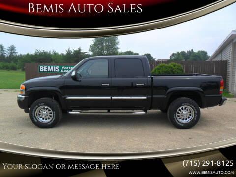 2006 GMC Sierra 1500 for sale at Bemis Auto Sales in Crivitz WI