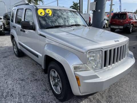2009 Jeep Liberty for sale at Brascar Auto Sales in Pompano Beach FL