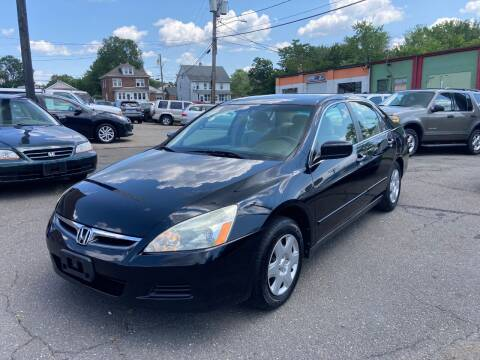 2007 Honda Accord for sale at ENFIELD STREET AUTO SALES in Enfield CT