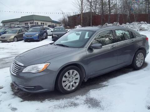 2012 Chrysler 200 for sale at Warner's Auto Body of Granville Inc in Granville NY