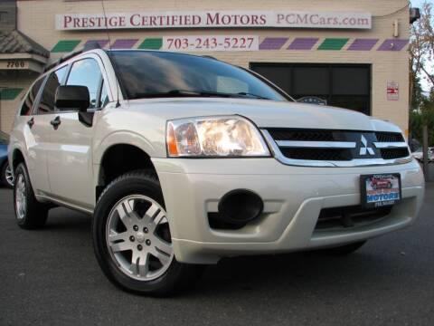 2008 Mitsubishi Endeavor for sale at Prestige Certified Motors in Falls Church VA