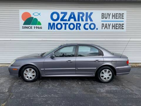 2005 Hyundai Sonata for sale at OZARK MOTOR CO in Springfield MO