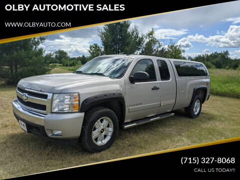 2008 Chevrolet Silverado 1500 for sale at OLBY AUTOMOTIVE SALES in Frederic WI