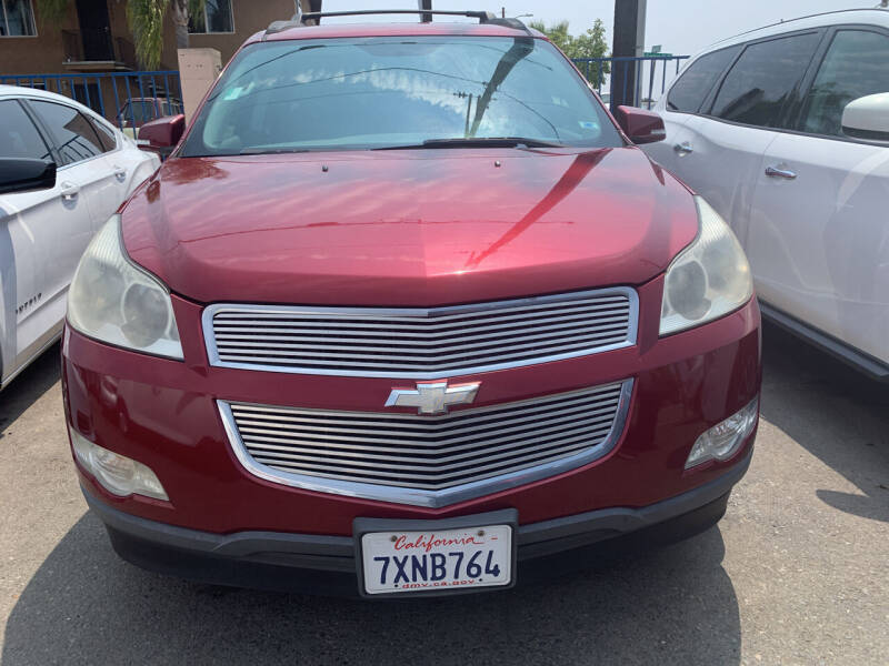 2011 Chevrolet Traverse for sale at GRAND AUTO SALES - CALL or TEXT us at 619-503-3657 in Spring Valley CA