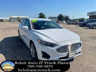2020 Ford Fusion for sale at BELOIT AUTO & TRUCK PLAZA INC in Beloit KS