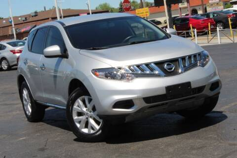 2014 Nissan Murano for sale at Dynamics Auto Sale in Highland IN