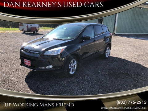 2015 Ford Escape for sale at DAN KEARNEY'S USED CARS in Center Rutland VT