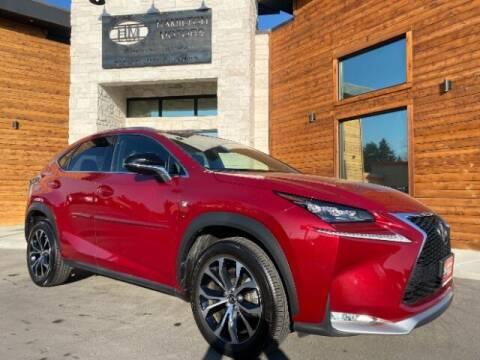 2016 Lexus NX 200t for sale at Hamilton Motors in Lehi UT