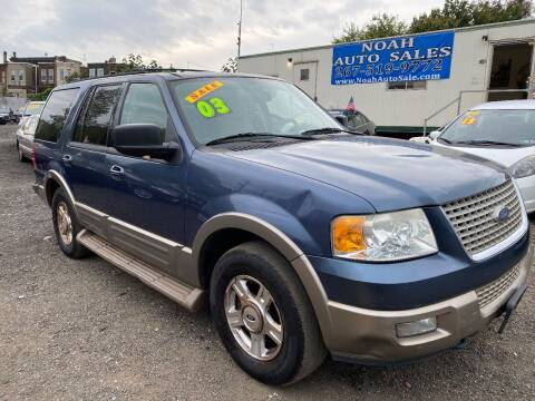 2003 Ford Expedition for sale at Noah Auto Sales in Philadelphia PA
