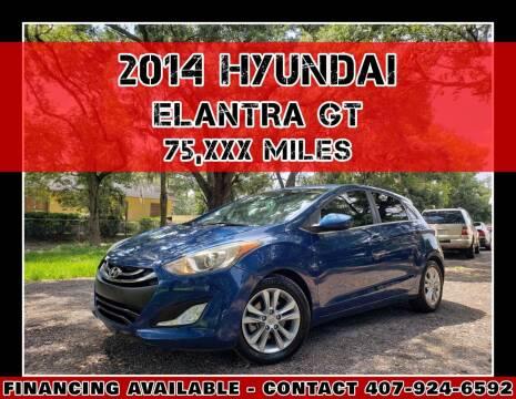 2014 Hyundai Elantra GT for sale at AFFORDABLE ONE LLC in Orlando FL