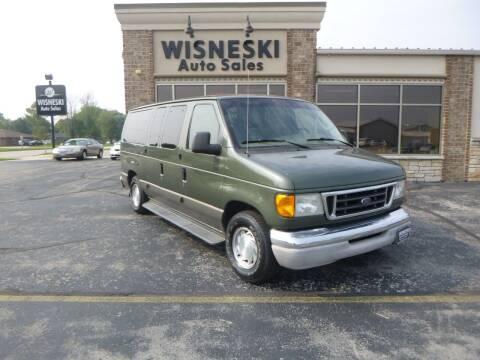 2003 Ford E-Series Wagon for sale at Wisneski Auto Sales, Inc. in Green Bay WI