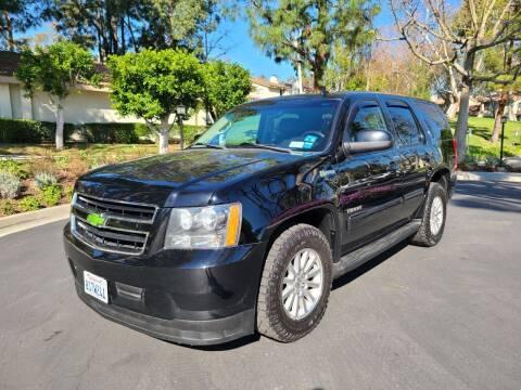 2012 Chevrolet Tahoe Hybrid for sale at E MOTORCARS in Fullerton CA