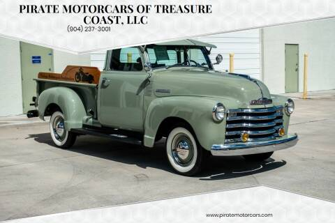1947 Chevrolet 3100 for sale at Pirate Motorcars Of Treasure Coast, LLC in Stuart FL