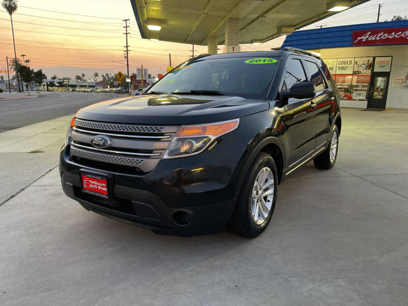 2015 Ford Explorer for sale at Top Quality Auto Sales in Redlands CA