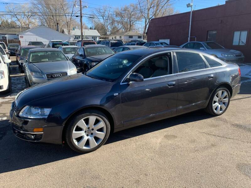 2005 Audi A6 for sale at B Quality Auto Check in Englewood CO