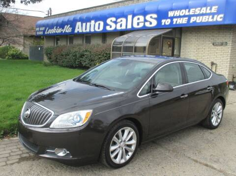 2013 Buick Verano for sale at Lookin-Nu Auto Sales in Waterford MI