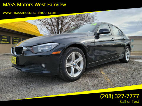 2014 BMW 3 Series for sale at MASS Motors West Fairview in Boise ID