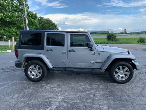 2013 Jeep Wrangler Unlimited for sale at Westview Motors in Hillsboro OH