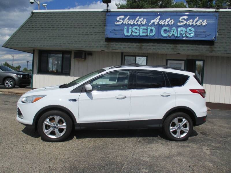 2013 Ford Escape for sale at SHULTS AUTO SALES INC. in Crystal Lake IL
