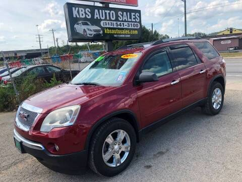 2010 GMC Acadia for sale at KBS Auto Sales in Cincinnati OH