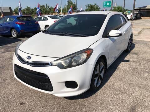 2014 Kia Forte Koup for sale at Ital Auto in Oklahoma City OK