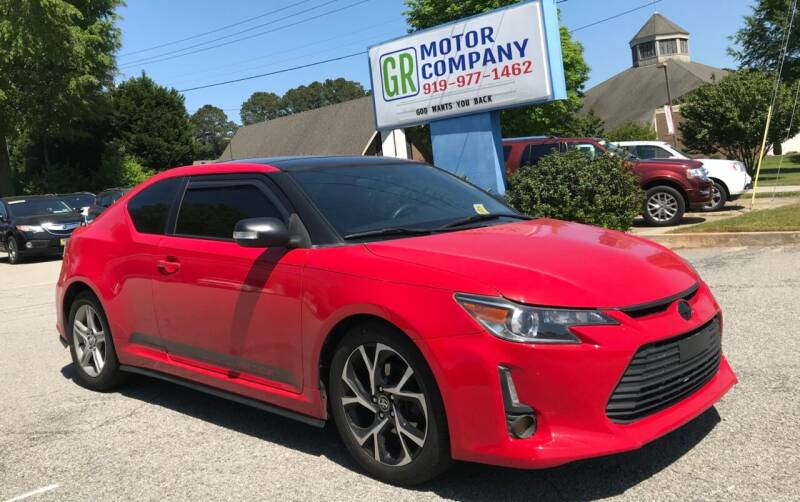 2015 Scion tC for sale at GR Motor Company in Garner NC