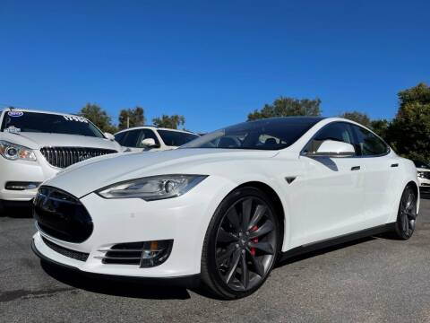 2014 Tesla Model S for sale at Upfront Automotive Group in Debary FL