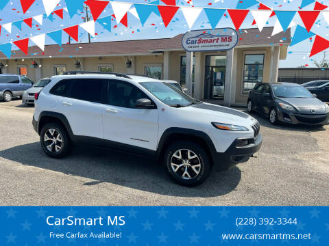 2017 Jeep Cherokee for sale at CarSmart MS in Diberville MS