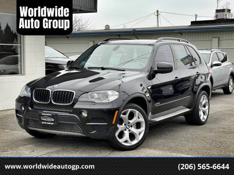 2013 BMW X5 for sale at Worldwide Auto Group in Auburn WA