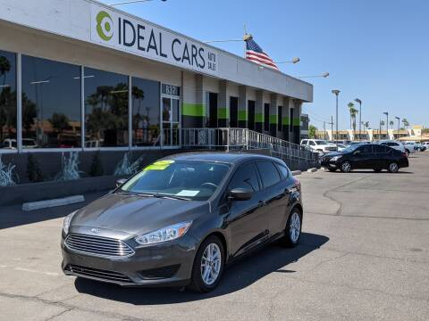 2018 Ford Focus for sale at Ideal Cars in Mesa AZ