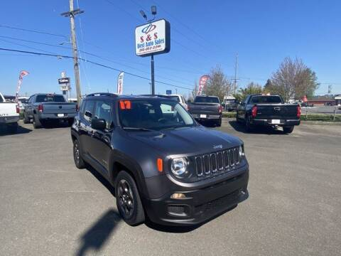2017 Jeep Renegade for sale at S&S Best Auto Sales LLC in Auburn WA