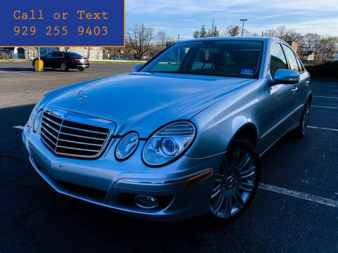 2008 Mercedes-Benz E-Class for sale at Ultimate Motors in Port Monmouth NJ